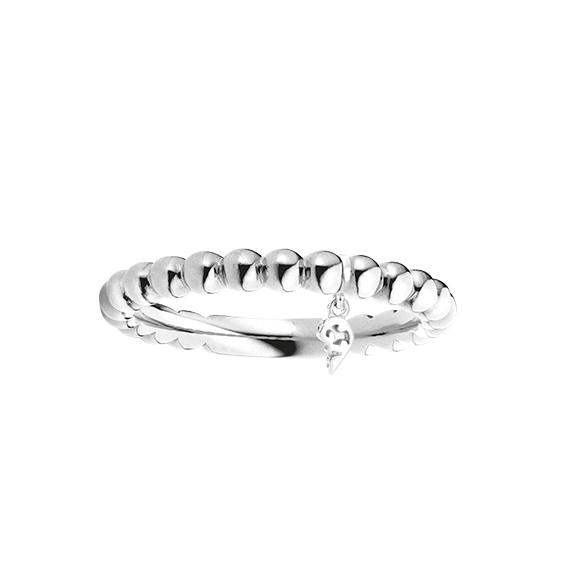 """Ring """"Fantasia"""" 750WG mit Markenzeichen"""