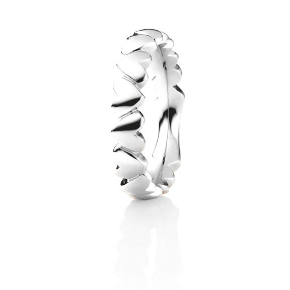 """Ring """"Fantasia"""" 750WG Herzform"""