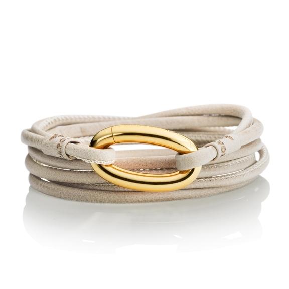 """Schliesse """"Sportivo"""" 750GG oval, 1 Diamant Brillant-Schliff 0.01ct TW/si"""