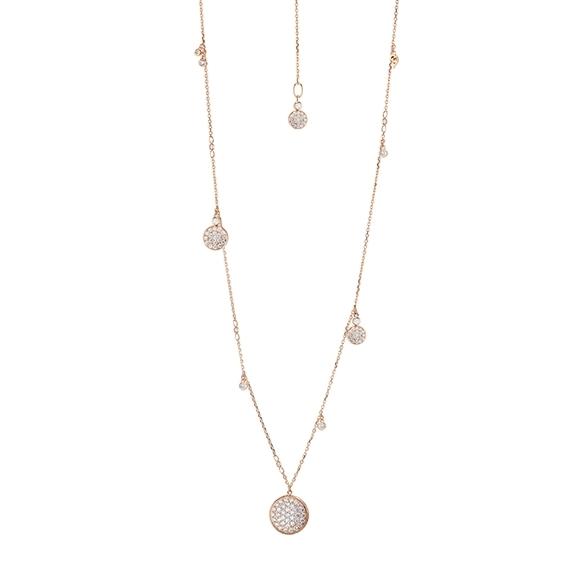 "Collier ""Dolcini Highlight"" 750RG, Diamanten Brillant-Schliff 1.40ct TW/vs1, Länge 60cm"