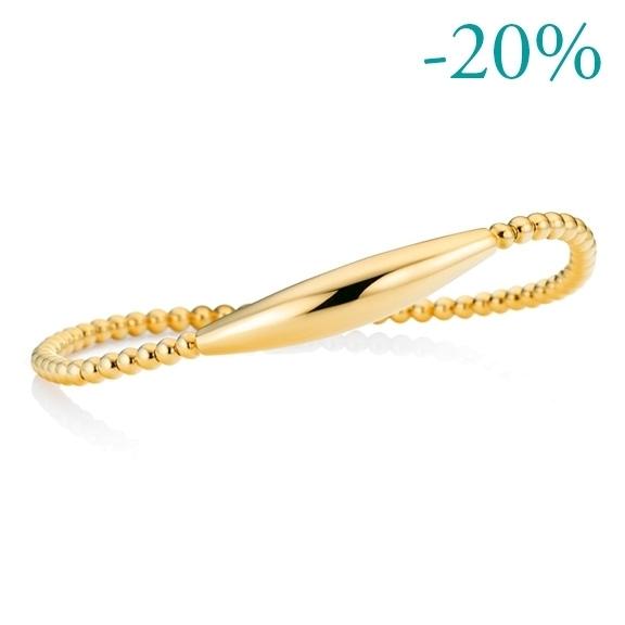 "Armband ""Flessibile"" 750GG, Innenumfang 17.0 cm"