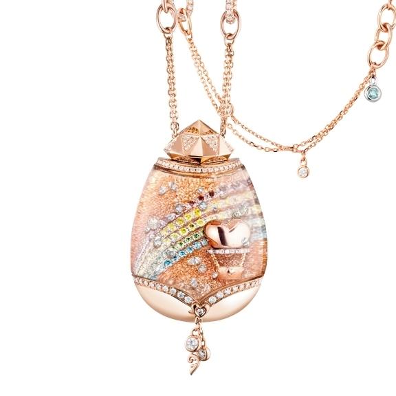 """Billion Dreams """"Journey of Love"""" Traumkugel 750RG/WG,  397 Diamanten 2.40ct TW/vs1, Collier 2-reihig 141 Diamanten 1.30ct TW/vs1 42cm, Armband 98 Diamanten 0.90TW/vs1 42cm"""