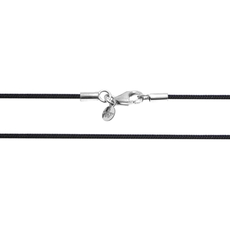 Textilband 750WG schwarz 1-reihig 42.0 cm