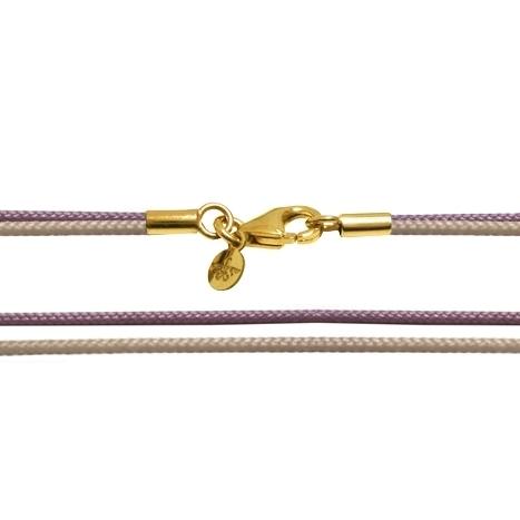 Textilband 750GG sand + violett 90.0 cm