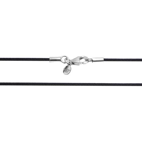 Textilband 750WG schwarz 1-reihig 45.0 cm